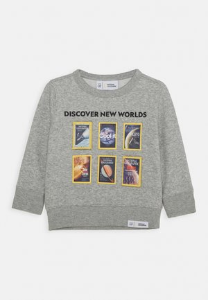 TODDLER BOY NATIONAL GEOGRAPHIC GEO CREW - Sweatshirt - light heather grey