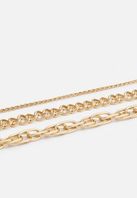 LIARS & LOVERS - CHUNKY CHAIN MUTLIROW - Smykke - gold-coloured - 2