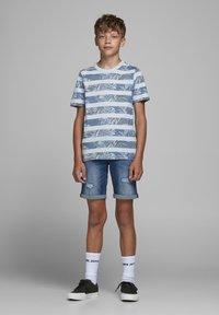 Jack & Jones Junior - Print T-shirt - soul blue - 0