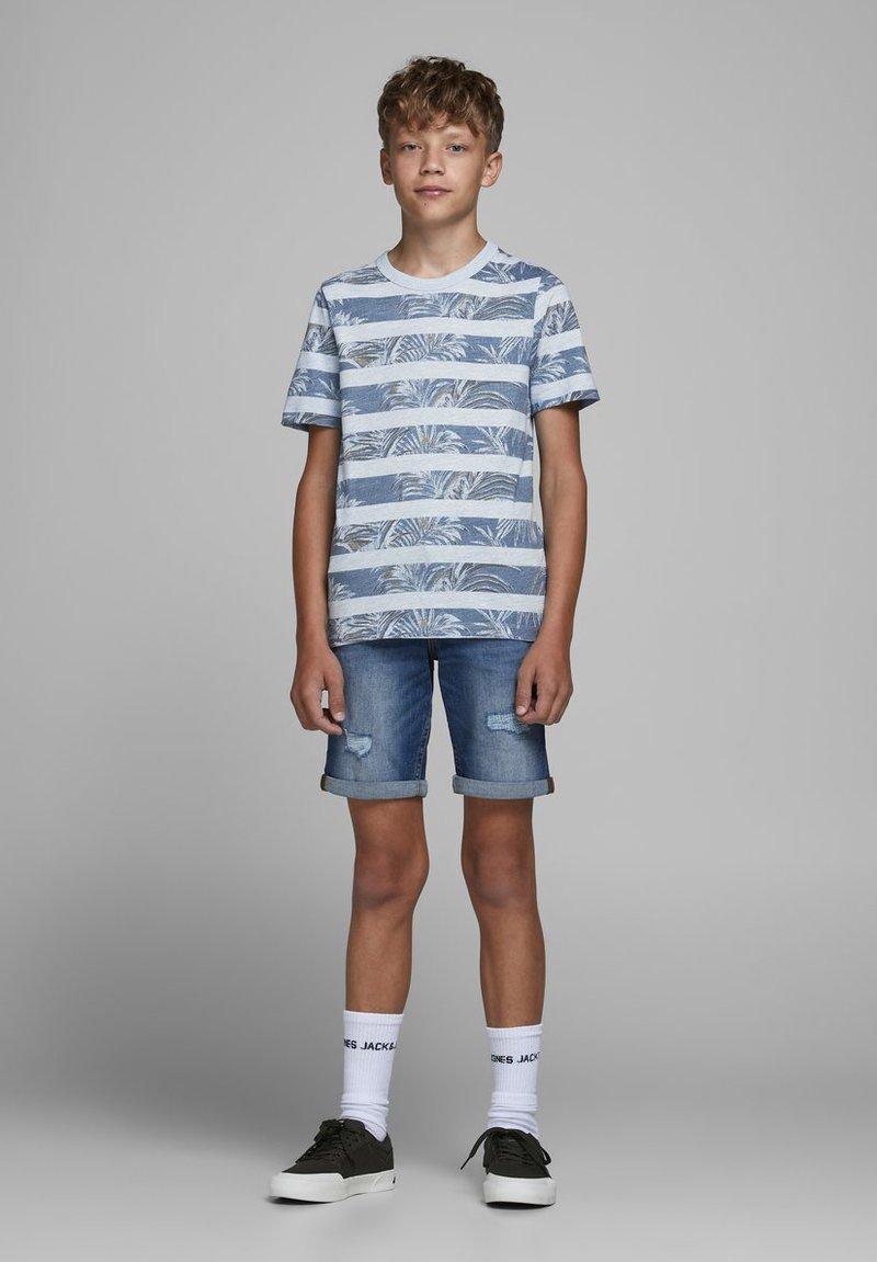Jack & Jones Junior - Print T-shirt - soul blue