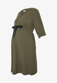 MAMALICIOUS - MLKAYA DRESS - Vestido ligero - dusty olive - 3