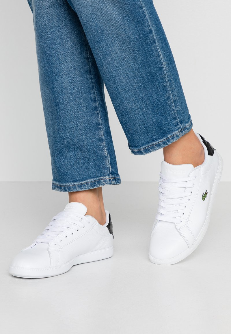Lacoste - GRADUATE  - Trainers - white/black