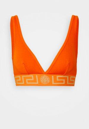 Triangle bra - dark orange