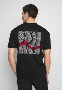 FAKTOR - CLIMATE TEE - Print T-shirt - black - 0