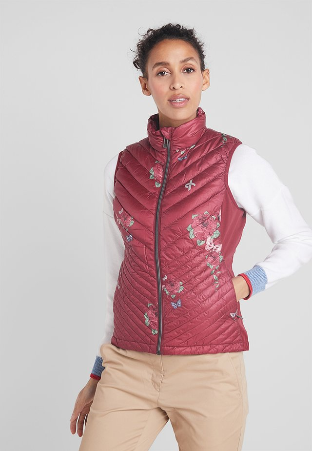 UTILITY - Bodywarmer - rumba red