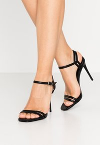 Even&Odd - High heeled sandals - black - 0