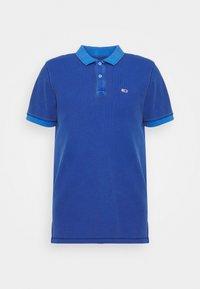 Tommy Jeans - GARMENT DYE - Polo shirt - blue - 5