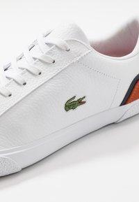 Lacoste - LEROND - Sneakers - white/orange - 5