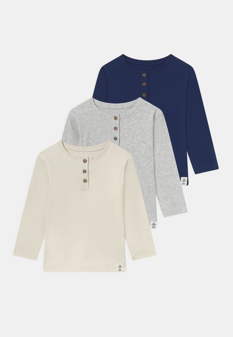 Marks & Spencer London - BABY 3 PACK UNISEX - Maglietta a manica lunga - navy