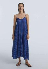 OYSHO - Maxi dress - dark blue - 0