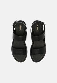 Clarks - KARSEA STRAP - Sandals - black - 4