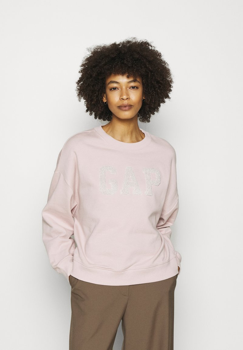 GAP - SHINE - Sweatshirt - dull rose