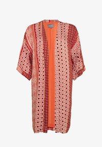 Culture - ZALAN KIMONO - Lett jakke - mecca orange - 0