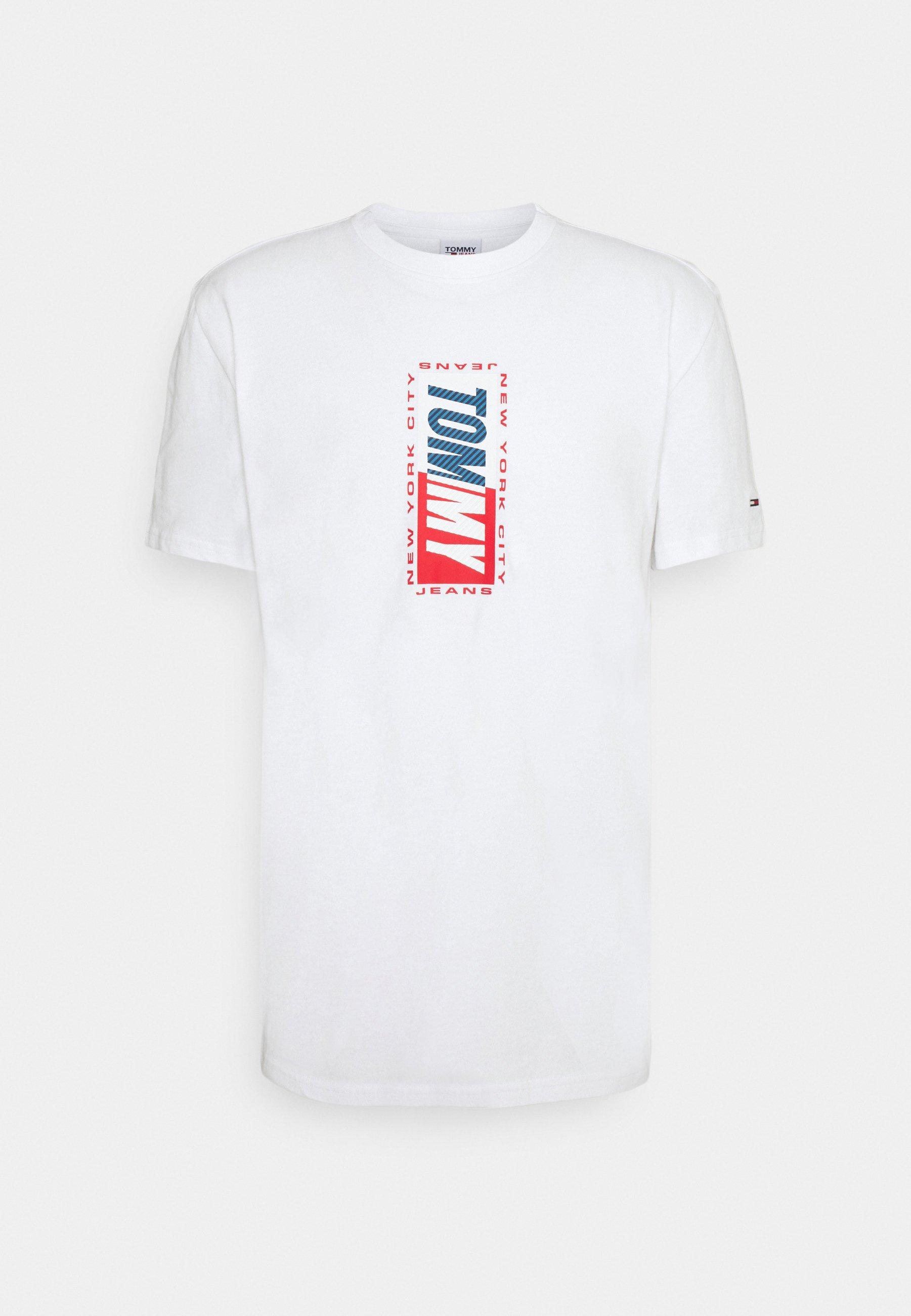 Men VERTICAL GRAPHIC TEE - Print T-shirt