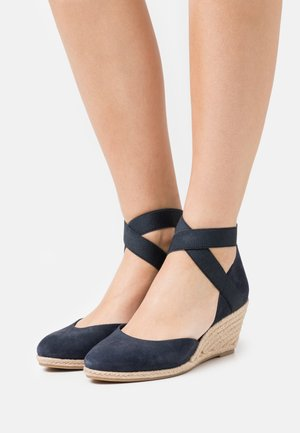 SLIP ON - Zeppe - navy