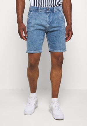Jeans Short / cowboy shorts - blue light wash