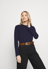 Anna Field - Long sleeved top - dark blue - 0