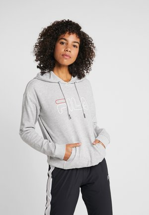 HOODY - Kapuzenpullover - light grey melange
