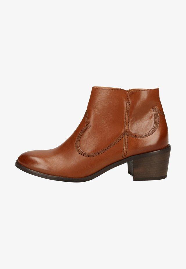 Boots à talons - mittelbraun 037