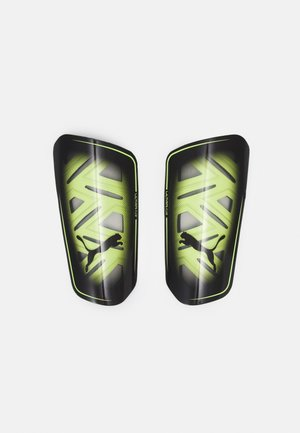 UNISEX - Shin pads - yellow alert/black