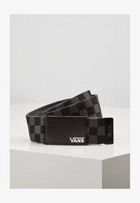 Vans - BY DEPPSTER II WEB BELT BOYS - Skärp - black-charcoal - 1