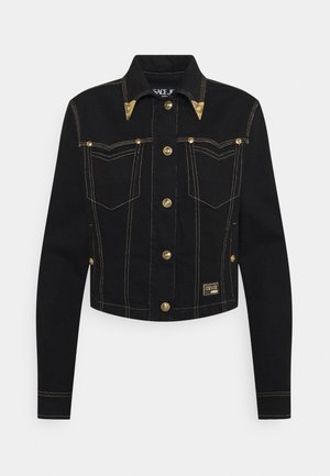 LADY JACKET - Farkkutakki - black