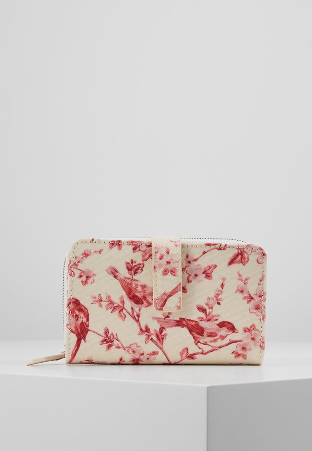 FOLDED ZIP WALLET - Portemonnee - warm cream