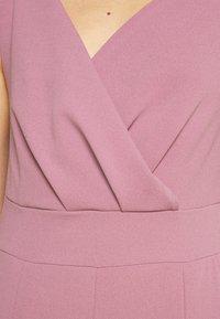 WAL G. - ADELINA WIDE LEG - Jumpsuit - mauve pink - 5