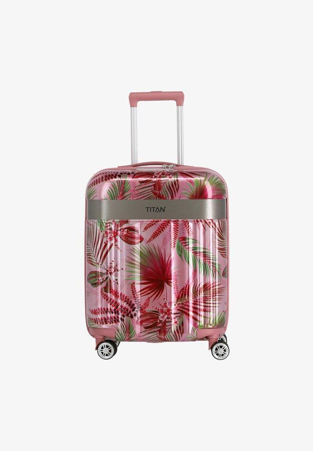 SPOTLIGHT - Wheeled suitcase - pink hawaii