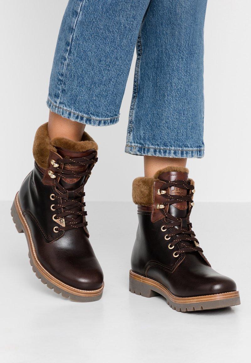 Panama Jack - PANAMA IGLOO BROOKLYN - Lace-up ankle boots - marron/brown