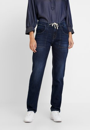 LONE - Relaxed fit jeans - dark washed blue
