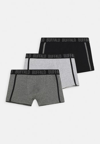 BOXER LOGOBUND 3 PACK - Underkläder - light grey/dark grey
