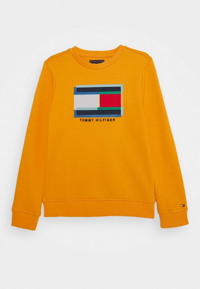 FUN ARTWORK - Sweatshirt - orange