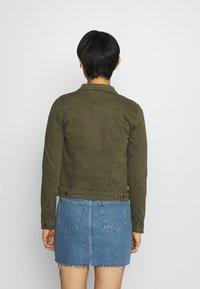 Soyaconcept - ERNA - Denim jacket - dark army - 2