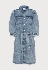 ACIDA DRESS - Jersey dress - light blue acid wash