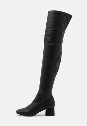 JOLIE SOCK BOOT - Høye støvler - black