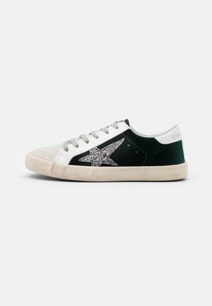 CITY - Matalavartiset tennarit - dark green