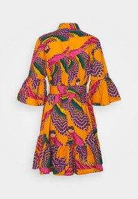 Farm Rio - MINI DRESS - Shirt dress - beaded macaws - 1