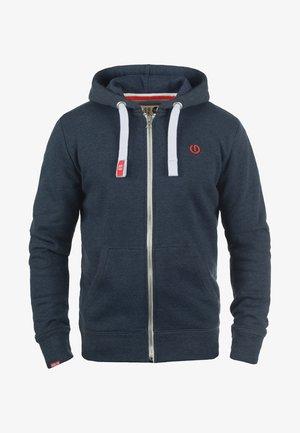 BENN - Zip-up hoodie - blue melange