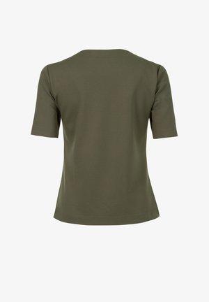 KNIT TORTY - Print T-shirt - khaki
