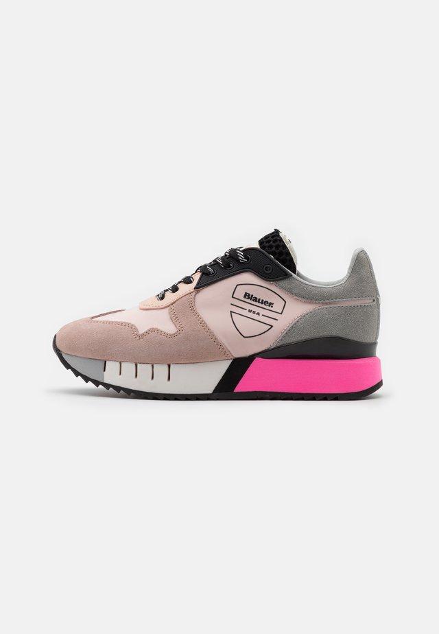 Sneakers laag - nude/grey