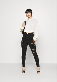Missguided Petite - CROPPED - Jumper - off white - 1