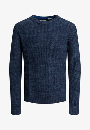 JJPANNEL CREW NECK - Jumper - denim blue 2
