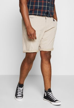 CHINO STRUCTURE - Shorts - beige