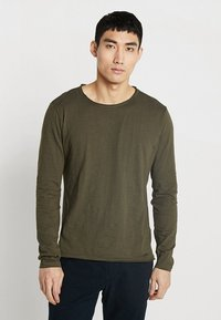 Key Largo - CHEESE - Long sleeved top - olive - 0