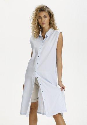 Shirt dress - cashmere blue