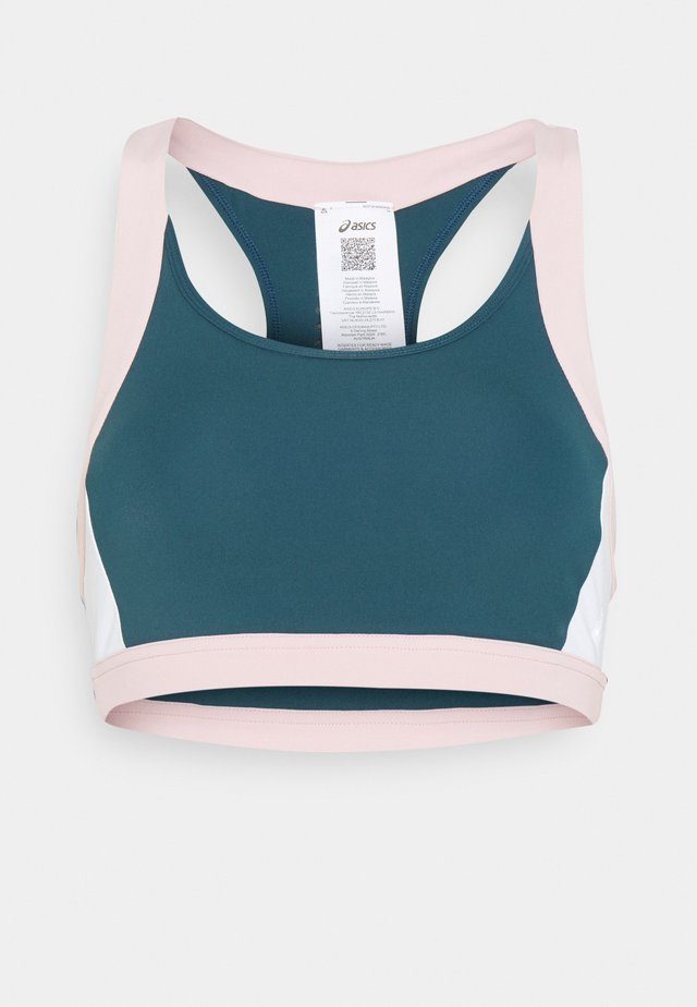 COLOR BLOCK BRA - Sports bra - magnetic blue