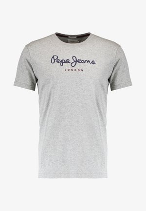EGGO - T-shirt con stampa - grey marlange