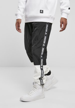 STARTER  - Tracksuit bottoms - black/white