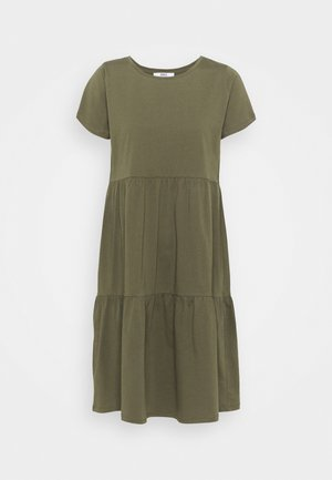 ONLAYCA PEPLUM DRESS - Jersey dress - kalamata
